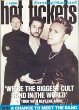 DEPECHE MODE interview COVER - London only 2000
