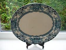 19th c Victorian Blue & White  Large  Platter c 1886 + Keeling & Co