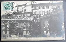ITALY ROMA PALAZZO BARBERINI FONTANE E CORTILE RPPC