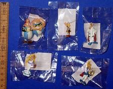Asterix & Obelix === 5 x Werbefiguren DOLCI PREZIOSI