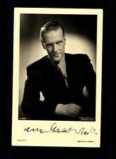 Albert Matterstock ROSS Autogrammkarte Original Signiert # BC 62032