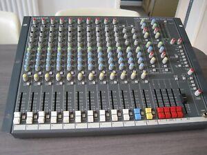 Soundcraft Spirit Folio Rac Pac 12 Channel Mixing Desk