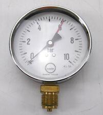"Baelz Manometer 0-10 bar Ø100mm 1/2"""