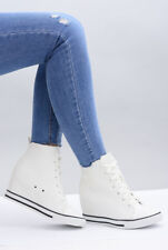 High Heels WEDGE  SNEAKERS TRAINERS COLOURS !Silver#White#Black$$!!!!+%+%+
