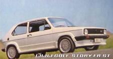 VW GOLF 1 mk1 3 doors BBS LOOK BODY KIT