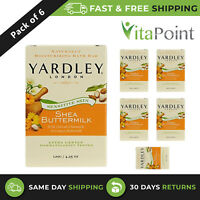 Yardley London Shea Buttermilk Naturally Moisturizing Bath Bar 120g / Pack Of 6