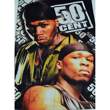 50 CENT HIP HOP TEXTILE FLAG POSTER 100X150CM UK SELLER
