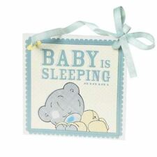 Me to You - Baby is Sleeping Wall Plaque - Tiny Tatty Teddy Bear