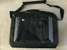 "Case Logic Computer / laptop Bag  Black / Gray NWOT 15""-16"""
