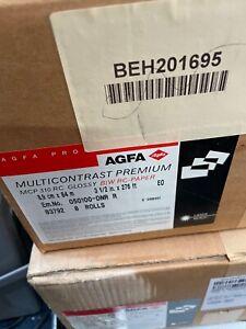 ILFORD MULTIGRADE TYPE BLACK&WHITE PAPER AGFA MULTI CONTRAST 8.9X84M