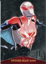 Spiderman Fleer Ultra 2017 Marvel Metal Chase Card MM35 Spider-Man 2099
