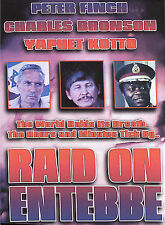 Raid on Entebbe CHARLES BRONSON WITH ALTERNATE COVER THAN SHOWN DVD
