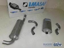 IMASAF Auspuff Set Volvo 940 I + II Kombi Turbo 2.0 + 2.3 1990-1998