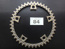 "Very Rare NERVAR STAR Drilled Chainring 3/32"" 42t INNER Road 128 BCD Vintage NOS"