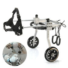 Small size Best quality Dog Wheelchair for Handicapped Leg Pet Disable dog Walk