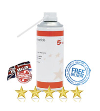 5 Star Air Duster Can Compressed Gas Computer Laptop Keyboard Cleaner 400ml