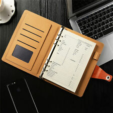 Vintage Diary Notebook Travel PU Leather Paper Journal Book Sketchbook With Pen