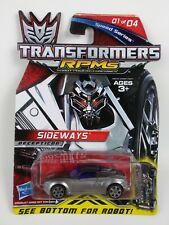 2009 HASBRO Transformers RPMs Sideways DECEPTICON Speed Series 1 of 4