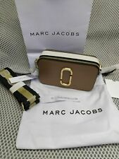 MARC JACOBS Logo Strap Snapshot Small Camera Bag french grey  hot sales