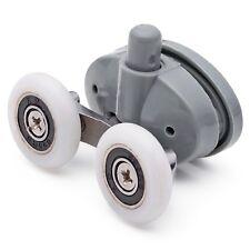 Double Bottom Butterfly Shower Door Rollers/Wheels 23mm wheel diameter L056