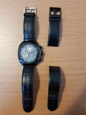Refurbished Diesel Men's DZ4317 Overflow Analog Display Quartz  Black Watch