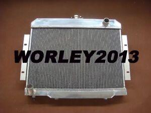 3 core aluminum radiator for Jeep CJ5 CJ6 CJ7 3.8L 4.2L 5.0L 1970-1985