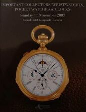 PRICE GUIDE/ARGUS WATCH/MONTRE (Breguet,Patek,Constantin,catalogue de vente)