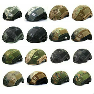 Wosport Tactical Paintball Helmet Cover for Hunting Airsoft FAST MH PJ Helmet