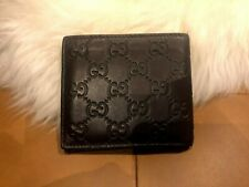 Authentic Gucci Signature Brown Mens Wallet