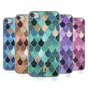 HEAD CASE DESIGNS MERMAID SCALES PATTERNS GEL CASE FOR APPLE iPOD TOUCH MP3