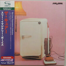 THE CURE, THREE IMAGINARY BOYS, AUTH LTD ED SHM-CD, JAPAN 2008, UICY-93477 (NEW)
