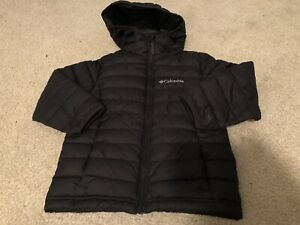 Boys Black Columbia Coat-size 4/5 Xxsmall