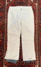 Columbia Omnitech White Women's XL Ski Pants-New without tags