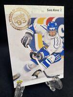 1992-93 Upper Deck Saku Koivu Rookie #617 Montreal Canadiens / Finland RC 🔥📈🔥