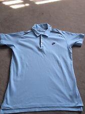 Nike Men's Azul Talla Grande L, camisa de Polo, Manga Corta, 100% algodón, con cuello