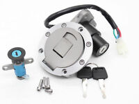 Ignition Switch Fuel Gas Cap Cover Locks For Yamaha TZR125 TZM150 TZR150 TDM850