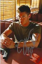 Jensen Ackles Autograph 4x6 Photo 10 Supernatural  Weimaraner Rescue Charity