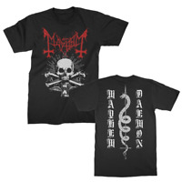 MAYHEM-Ordo Ad Chao -Norwegian black metal band, T_shirt ...