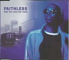 FAITHLESS Take the Long Way Home 4TRX w/ RADIO & 3 RARE MIXES CD Single SEALED