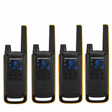Motorola T82 Extreme Walkie-talkie 4 Pieces - Black/Yellow