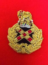 Quality Field Marshall Beret Badge Hand Embroidered Bullion Wire Beret badge