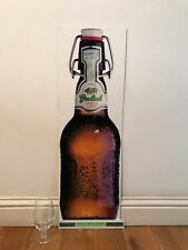 Grolsch Advertising Sign Used Plaque Bar Pub Club Wall Home Den Man Cave Decor