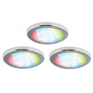Bazz Multicolored (Red/Green/Blue) Under Cabinet LED Lights w/Remote Control!