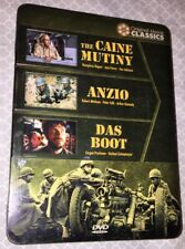 World War Ii Films - Caine Mutiny, Anzio, Das Boot (Dvd, 2009, 5-Disc Set)