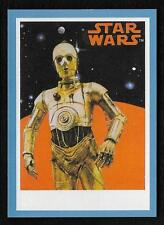 2017 Topps Star Wars 1978 Sugar Free Wrappers C-3PO Blue #03/75