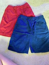 Circo Boys Shorts Size Large (12/14) Blue And Red Shorts 100% Cotton