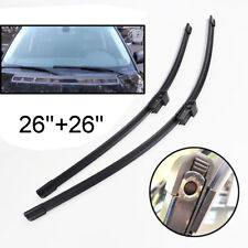 """26""""+26"""" Front Windshield Wiper Blades For Land Rover Range Rover L322 02-12"""