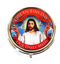 Jesús Caja de Píldora - Give Us This Day Our Daily Meds