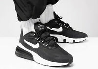 NIKE AIR MAX 270 -  REACT -  BLACK WHITE BLACK - UK SIZES 5