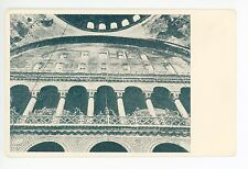 Aya Sophia Museum—Mosque Interior—Istanbul Turkey—Antique PC Constantinople~1930